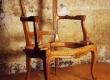 antiikse uus, neo rokokoo tooli raam enne polstri tegemist