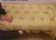 mööbli pealiskangas fikseeritud sügav volditud nööpide fikseerimine, sidumine
