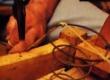 polstri keerdvedrude sidumine ja pingutamine