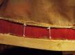 Tugitooli käetoe kinnitatud, fikseeritud polstrialune riie