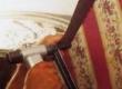 rokokoo diivani seljataguse katmine pealisriidega