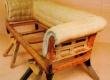 Chesterfeild diivani seljataguse ja käetugede polsterdatud vedruseotise