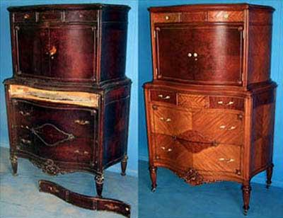 Sekretär kapp enne ja pele restaureerimist - Antique, Antique Store, Antique Shop, Antique Items, Antiquities