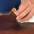 shellaki ( shellaki) sulatamine, pinnaviimistluse parandamiseks.