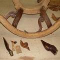 restaureeritava tooli demonteerimine