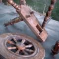 restaureerimiseks demonteeritud vokk