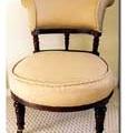 restaureeritud antiikne tool