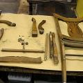 demonteeritud antiikne tool