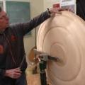 ümarvorm puidudetaili treimine