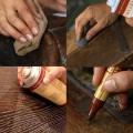 restaureerimise erinevad töövõtted, lihvimine toonimine.