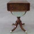 restaureeritud, antiik laud 19. sajandist.