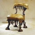eklektiline nahkehistööga tool, 19.sajandi teisest poolest