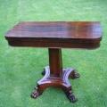 restaureeritud biidermeier laud 19.sajandist