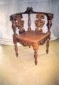 restaureeritud, pähklipuidust  uus, neo renessanss nurga tool  19.sajandi teisest poolest