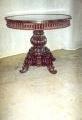 restaureeritud, tammepuust   laud 19.sajandi teisest poolest