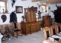 restaureeritud antiikmööbliga sisustatus jahisaal
