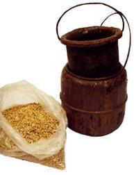 Luuliiman, nahkaliiman keittokattila ja liima