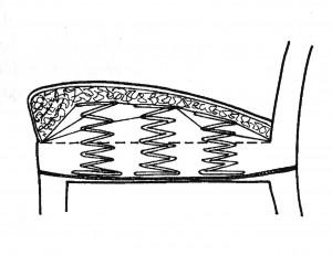 Joustinkantatun perustuksen läpileikkaus