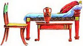 Antiik-Kreeka mööbel